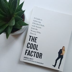 """""""THE COOL FACTOR"""" By Andrea Linett Paperback Book"""